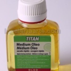 57 - Medium Oleo Secado Rapido 100ml Titan