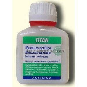 Medium Acrilico Brillante nº60 100ml TITAN