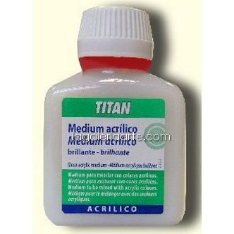 Medium Acrilico Brillante nº60 250ml TITAN