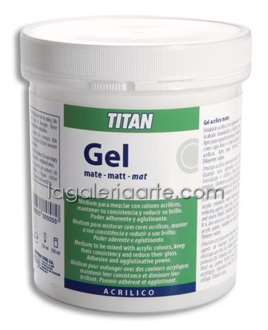 Gel Acrilico Mate nº61 500ml TITAN