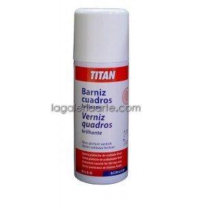 Fijador Brillante Spray 400ml TITAN