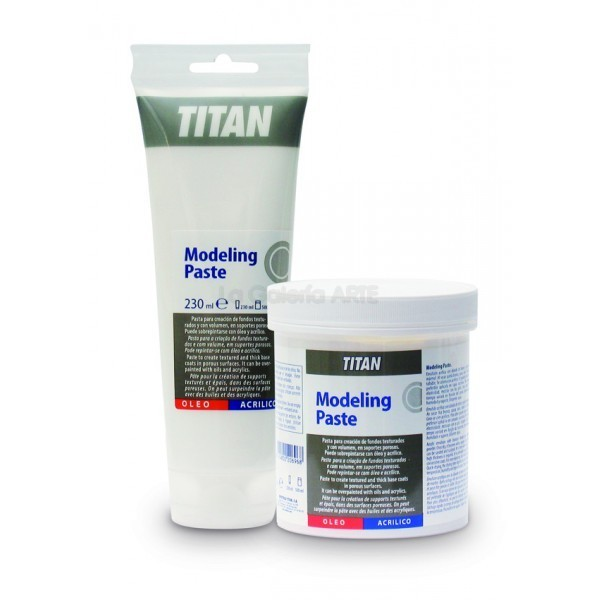 Modeling Paste 230ml TITAN