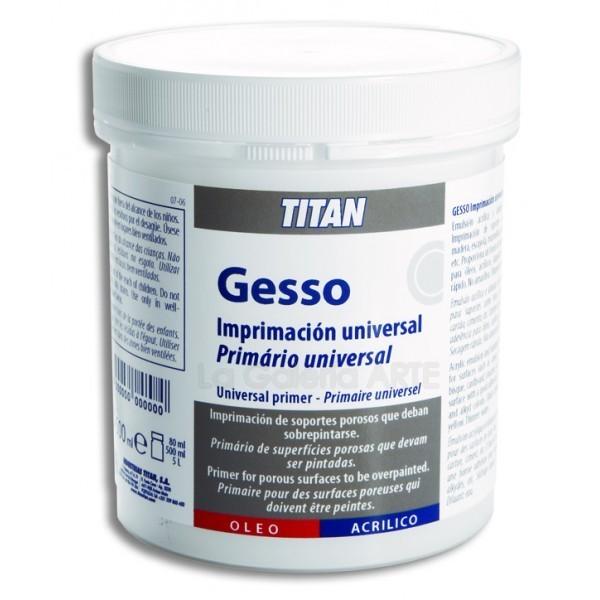 Gesso Imprimacion Universal 500ml TITAN
