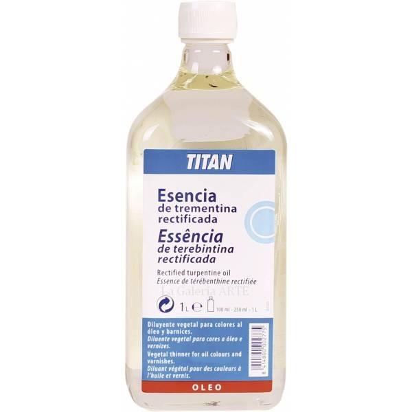Esencia de Trementina Rectificada 1litro TITAN