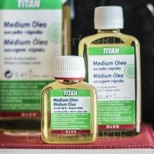 Medium Oleo Secado Rapido 250ml Titan nº57