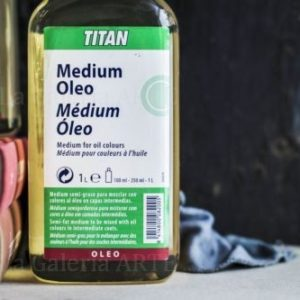 Medium para Colores al Oleo 250ml Titan nº59