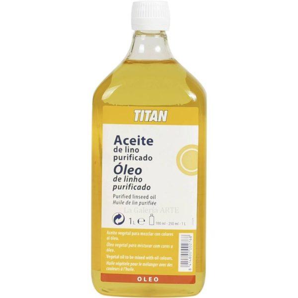Aceite de Lino Purificado 1litro TITAN