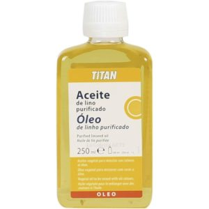 Aceite de Lino Purificado 250ml TITAN