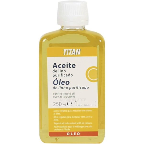 Aceite de Lino Purificado 250ml TITAN