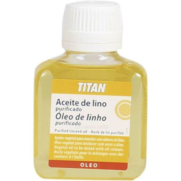 Aceite de Lino Purificado 100ml TITAN