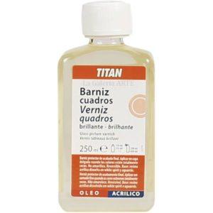 Barniz Cuadros Brillante 250ml TITAN