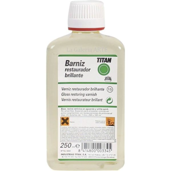 Barniz Restaurador Brillante 250ml TITAN