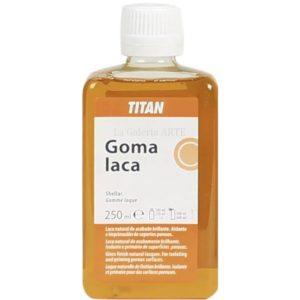 Goma Laca 250ml TITAN