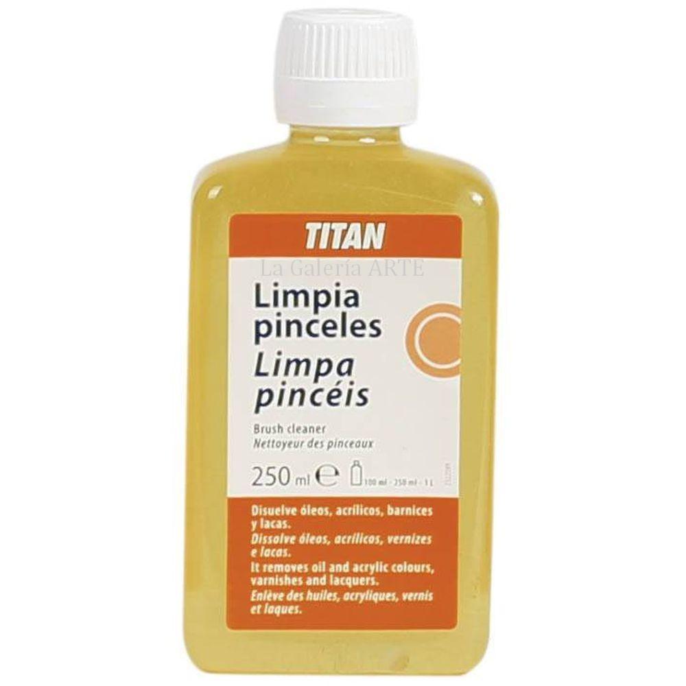 Limpia Pinceles 250ml TITAN