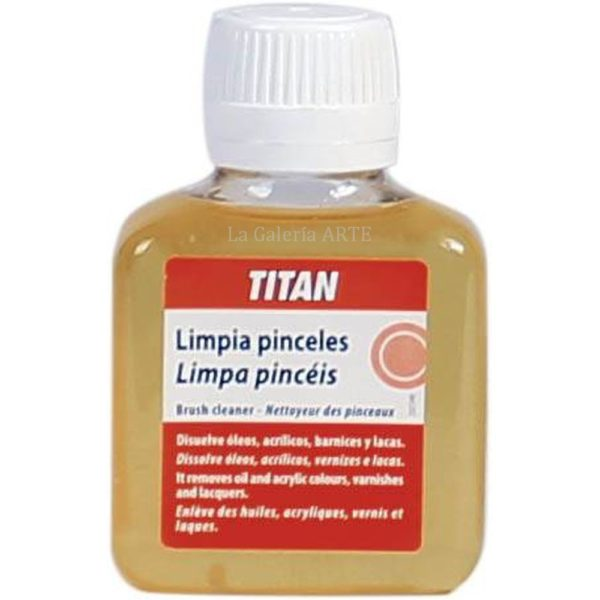 Limpia Pinceles 100ml TITAN