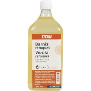 Barniz Retoques 1 litro TITAN