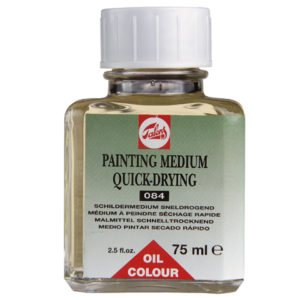 Medio Oleo Para Pintar Secado Rapido 75ml.