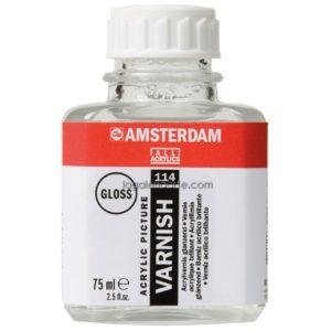 Barniz Acrílico Brillante AMSTERDAM 75 ml.