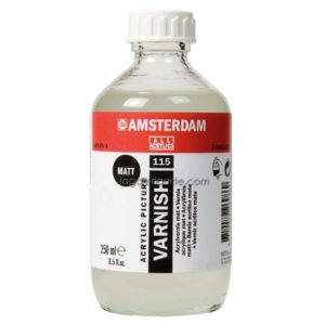Barniz Acrílico Mate AMSTERDAM 1000 ml.
