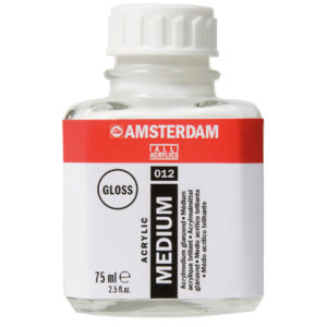 Medio Acrilico Brillante (Amsterdan) 75ml
