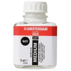 Medio Acrilico Mate (Amsterdan) 75ml