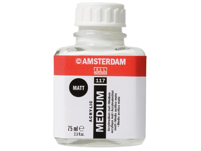 Medio Acrilico Mate (Amsterdan) 250ml