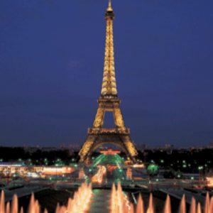 Torre Eiffel, Paris, neon 1000 P.