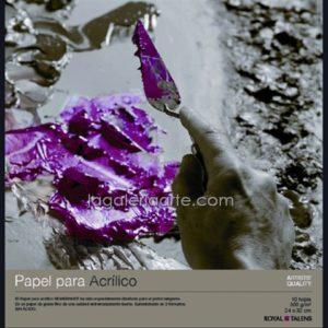 Bloc Acrilico REMBRANDT 24X32cm 10 hojas