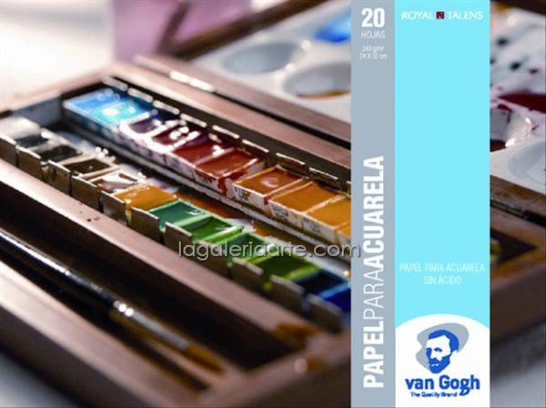 Bloc Acuarela Van Gogh 24X32 cm 20 hojas 240gr/m2