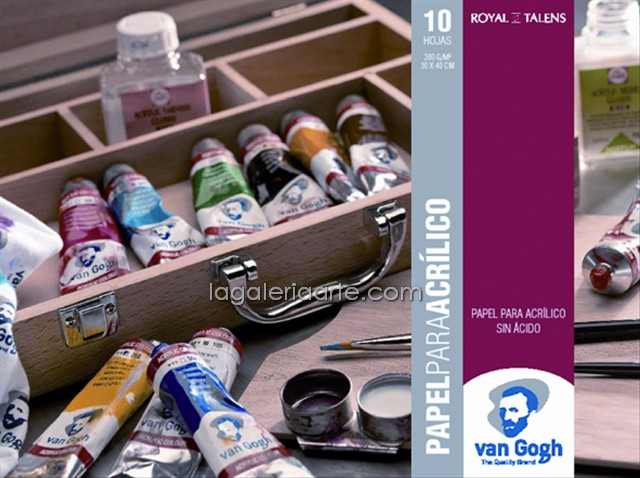 Bloc Acrilico Van Gogh 24X32cm 10 hojas 300gr/m2