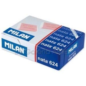 Goma de Borrar MILAN Nata 624, 24 unidades