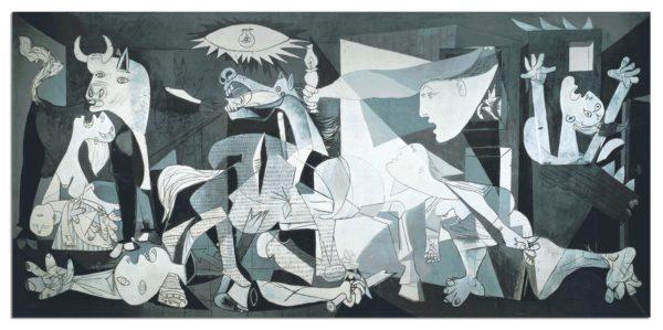 Guernica, P.Picasso miniatura, 1000 P.