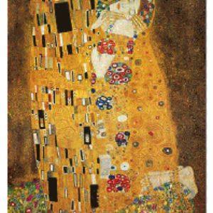 El Beso, G. Klimt, 1500 P.