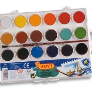 Acuarela 18 Colores Jovi