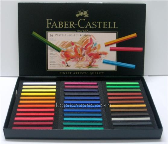 Pastel Policromo FABER-CASTELL 36un.