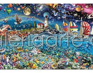 Vida, 24000 Piezas, el mayor Puzzle