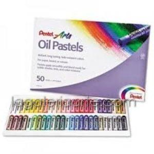 Pastel al Oleo Pentel 50 un.
