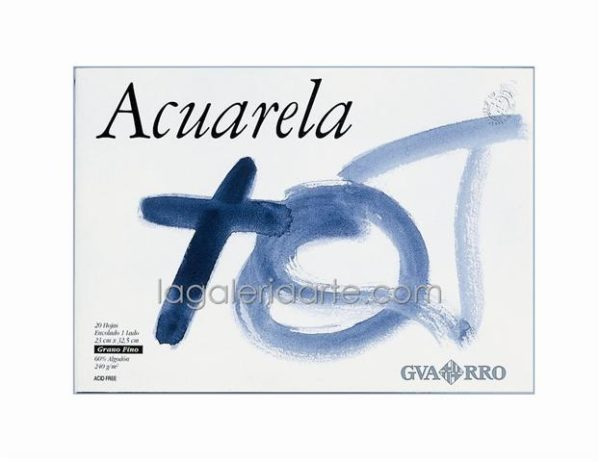 Bloc Acuarela GUARRO 32.5x46cm 240g 20 hojas