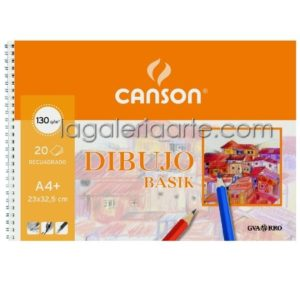 Bloc Dibujo BASIK A4+ 150g/m2 20 hojas