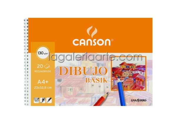Bloc Dibujo BASIK A4+ 130g/m2 20 hojas