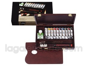 Maletin de Madera Acrilico REMBRANDT Rac Box Traditional