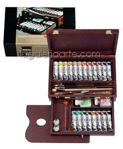 Maletin de Madera Acrilico REMBRANDT Rac Box Master