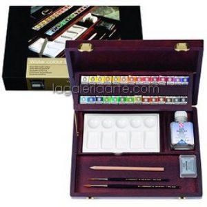 Caja de Madera RWC Box Professional Acuarela REMBRANDT