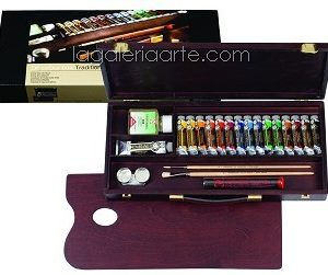 Maletin de Madera Oleo REMBRANDT ROC BOX TRADITIONAL