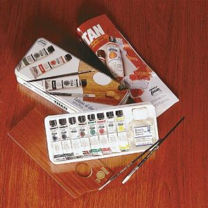 Caja Metalica Oleo TITAN Extrafino 8-T