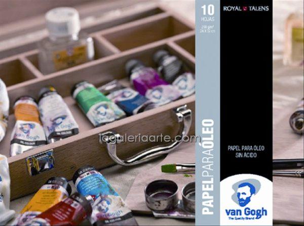 Bloc Oleo Van Gogh 30X40cm 10 Hojas