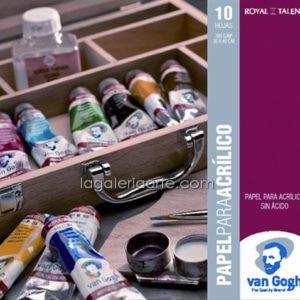 Bloc Acrilico Van Gogh 30X40cm 10 Hojas 300gr/m2