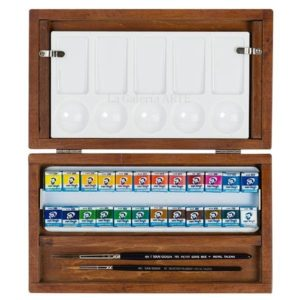 Caja de Madera Acuarela Van Gogh PANS BOX GWC8624