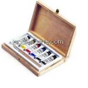 Caja de Madera Oleo Ecobox Ticiano 24x15cm