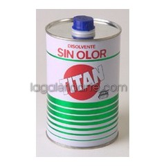 Disolvente TITAN Sin Olor 1Litro